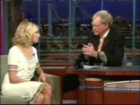 Sienna Miller on David Letterman, 15th February 2007