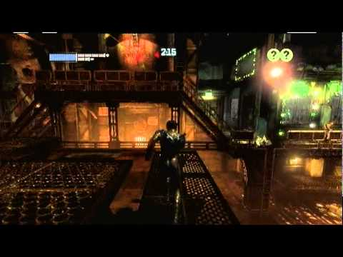 Batman Arkham City Predator Challenge room- meltdown mayhem extreme (nightwing)