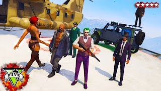 SUPER VILLAIN MINI GAME CHALLENGE | It's Time To Hunt Snoop!! (GTA 5 Funny Moments)