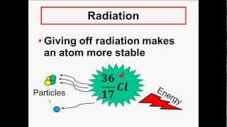 NUCLEAR CHEMISTRY - Radioactivity &  Radiation - Alpha, Beta, Gamma