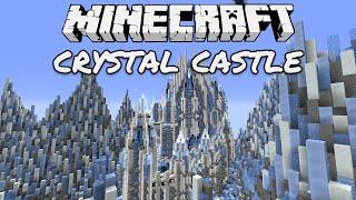 Minecraft Creative Inspiration 06 Crystal Castle