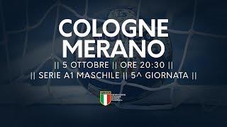 Serie A1M [5^]: Cologne - Merano 29-28