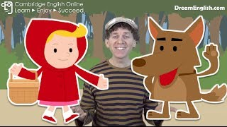 Red Riding Hood - Little Red Riding Hood Kids Story | Bedtime Stories | Children, Preschool, Learn English