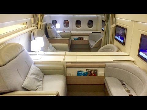 Air France First Class - New La Premiere Cabin - CGK-SIN-CDG B777-300ER | Flight Report [HD]
