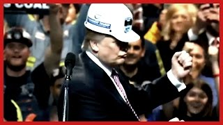 Donald Trump Coal Miners Endorsed Trump in West Virginia - Coal Association Charleston Hard Hat ✔