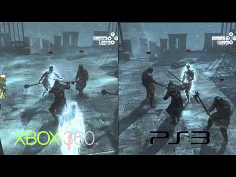 Assassin's Creed Revelations - Xbox 360 vs PS3 comparison