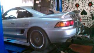MR2 Turbo Dyno Tuning Session 352hp