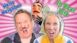 Hello Neighbor In Real Life - Mart Gets a Girlfriend SKIT | DavidsTV