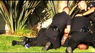 Skateboarder Punched In The Head By LAPD Officer