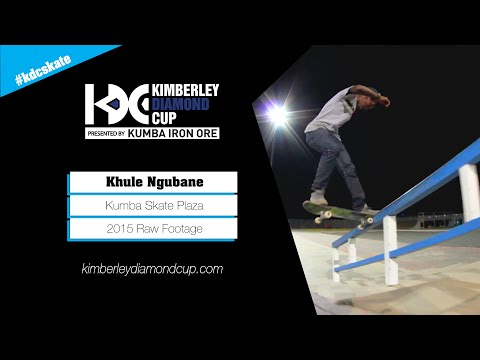 Khule Ngubane Kumba Skate Plaza Raw Footage (2015)