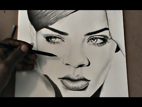 AMY AMY - How to Draw Rihanna Step by Step