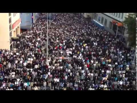 Москва  Проспект Мира  Мусульмане отмечают Ураза байрам   28 июля Сегодня Новости — копия