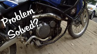 "KLR650 ""Oil Leakin"