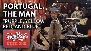 """Download Lagu Portugal. The Man -  """"Purple, Yellow, Red and Blue""""   Hay Bales Sessions   Bonnaroo365 Gratis STAFABAND"""