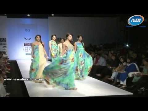 Gautam Gupta's Collection at Wills Lifestyle India Fashion Week SS 2014