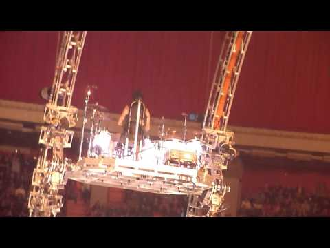 Tommy Lee Roller Coaster Drum Solo Live Ericsson Globe Arena, Sweden - The Final Tour 2015-11-16