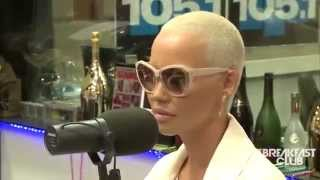 AMBER ROSE Talks Tyga and Kylie Jenner and calls Kim Kardashian FAKE!!