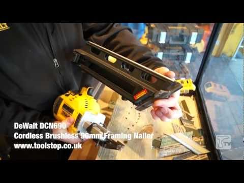 Dewalt DCN690M2 18V li-ion Cordless Brushless 90mm Framing Nailer - Toolstop DEMO