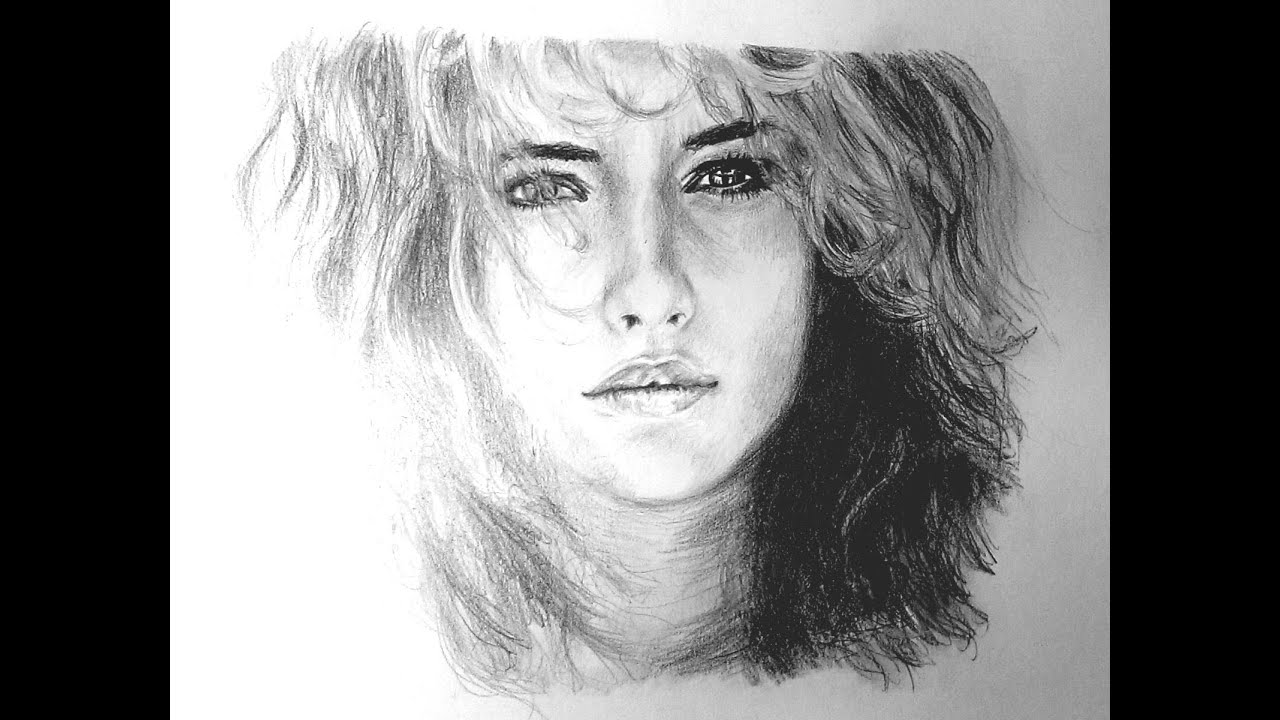 photoshop рисунок карандашом: