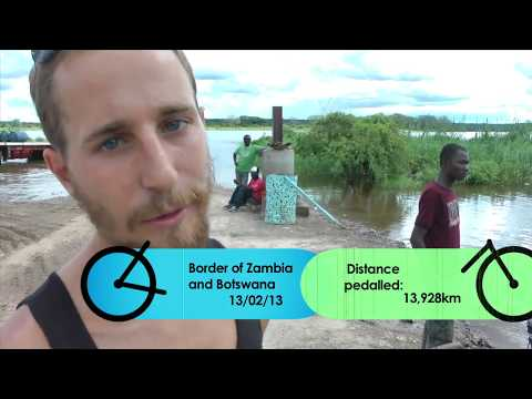 Lake Malawi to Cape Town - Daring Dynamos - Around the World by Bicycle