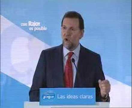 Elecciones 9M - Rajoy propone medidas económicas y contratos