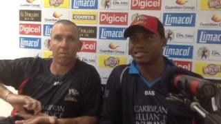 Antigua Hawksbill Captain Marlon Samuels