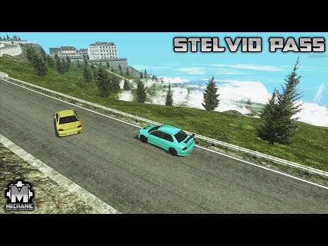 Stelvio Pass Drift Track