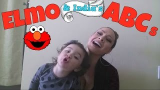 One year old Baby Ellie sings ABC song (Elmo and India Arie version)