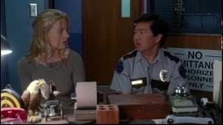 Britta slaps Chang - Community - Gillian Jacobs and Ken Jeong
