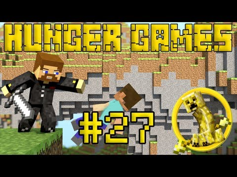 Minecraft Hunger Games #27 - Застряли в шахте