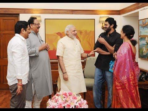 Bahubali Prabhas Meets Prime Minister Narendra Modi – Hybiz.tv Photo Image Pic