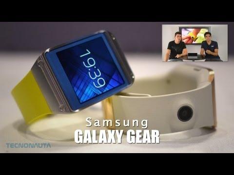 Galaxy Gear: El reloj inteligente de Samsung (Análisis características)
