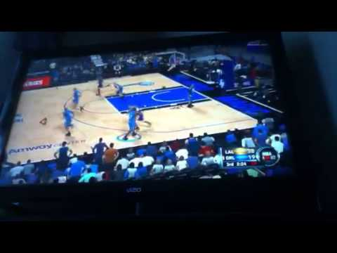 NBA 2k12 gameplay part 3