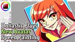 DOLLASTIC PLAYS New Avatar Speed Painting!