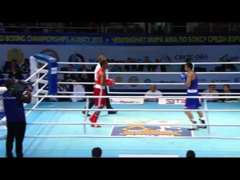 Mens Light Welter (64kg) - Quarter Final - Yasnier LOPEZ(CUB...