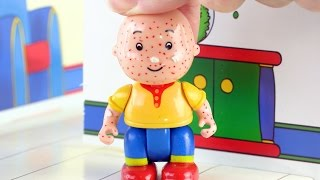 Caillou And Friends Gets Chicken Pox 🤒👀 Caillou Toy Videos - Toys for Kids ADVERTISEMENT