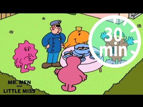 MR MEN & LITTLE MISS - 30 minutes - Compilation #11