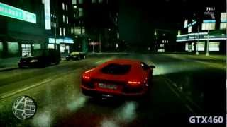GTA 4 - Gameplay with GTX460 (Max Settings) + Graphics Mod