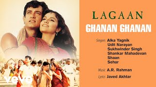 Download Ghanan Ghanan  Official Audio Song  Lagaan  Udit Narayan  AR Rahman  Javed Akhtar