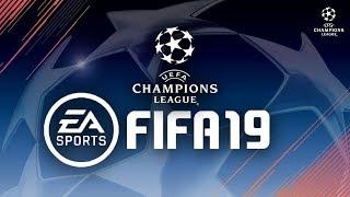 🔴► FIFA 19 ⚽ Champions League Completa! Liga dos Campeões da UEFA JOGADO AO VIVO!