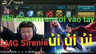 Chết cười với ông SMG Sirenia chơi SUPERMAN leo rank cao thủ đầu mùa/Ủi Ủi Ủi🏍🏍nát bét team địch🏋