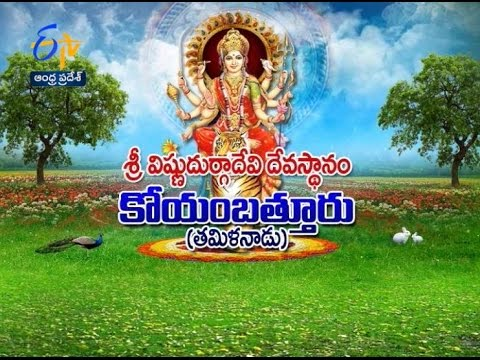 Sri Vishnu Durga Devi Temple Coimbatore (Tamil Nadu) - 17th April 2016 - తీర్థయాత్ర – Full Episode