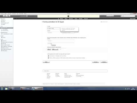 [Tutorial] Como criar uma conta na Appstore/iTunes sem precisar de cartão de crédito? [HD]