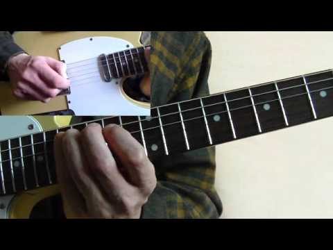 Rockabilly Guitar Lesson - Cliff Gallup - Pink Thunderbird