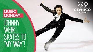 Johnny Weir Skates to