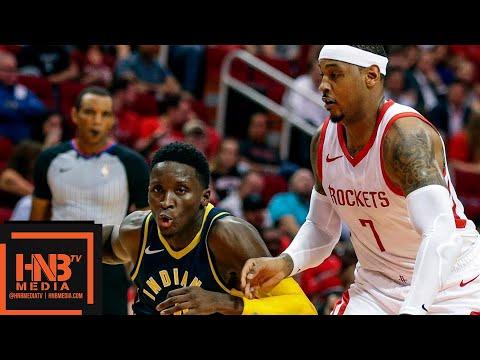 Houston Rockets vs Indiana Pacers Full Game Highlights   04.10.2018, NBA Preseason