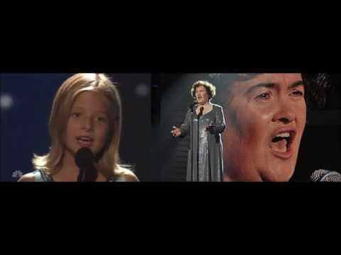 Jackie Evancho- A Mother's Prayer (with Susan Boyle) video