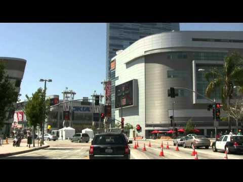 See downtown Los Angeles LONG - Be a passenger in my car HD Canon VIXIA-HV30