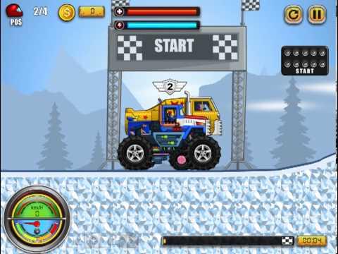 Monsters' Wheels - Gameplay video