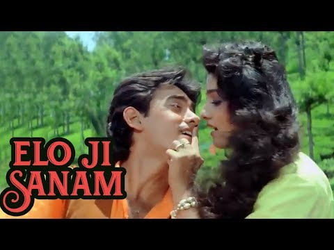 Elo Ji Sanam Hum - Aamir Khan, Raveena Tandon - Andaz Apna Apna Comedy Song video